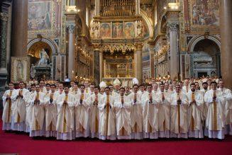 37 nouveaux prêtres pour les Légionnaires du Christ