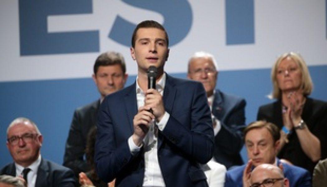 """Jordan Bardella : """"Avec l'environnement, l'immigration est sans doute l'un des deux grands défis majeurs de l'Europe au XXIe siècle"""""""