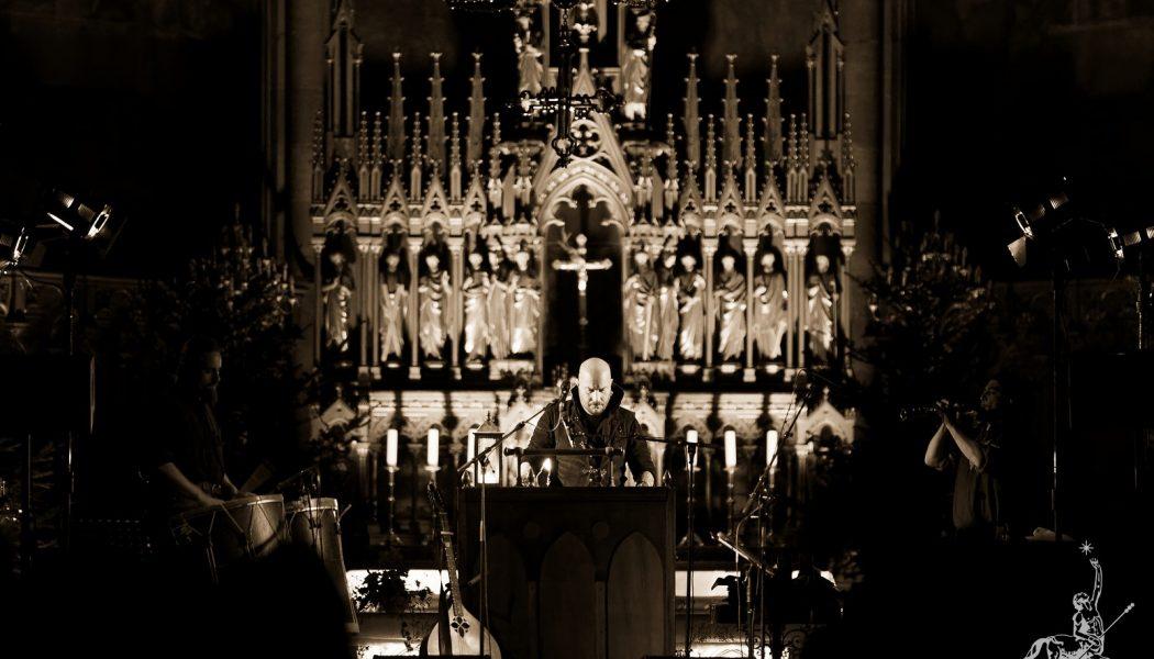 Les concerts néo-paganistes de Luc Arbogast dans les églises