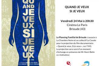 Brioude (43) : le planning familial vous invite à un débat sur l'avortement le 24 mai