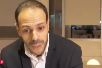 Nagib Azergui, président de L'Union des démocrates musulmans français