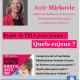 21 mai : conférence d'Aude Mirkovic à Nice