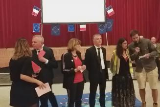 Les Gilets jaunes perturbent le meeting du ministre François de Rugy