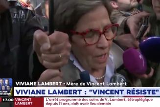 «La France régresse mais Vincent résiste. On se battra, non ils ne le tueront pas»