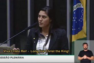Vive le Christ-Roi ! Au Brésil