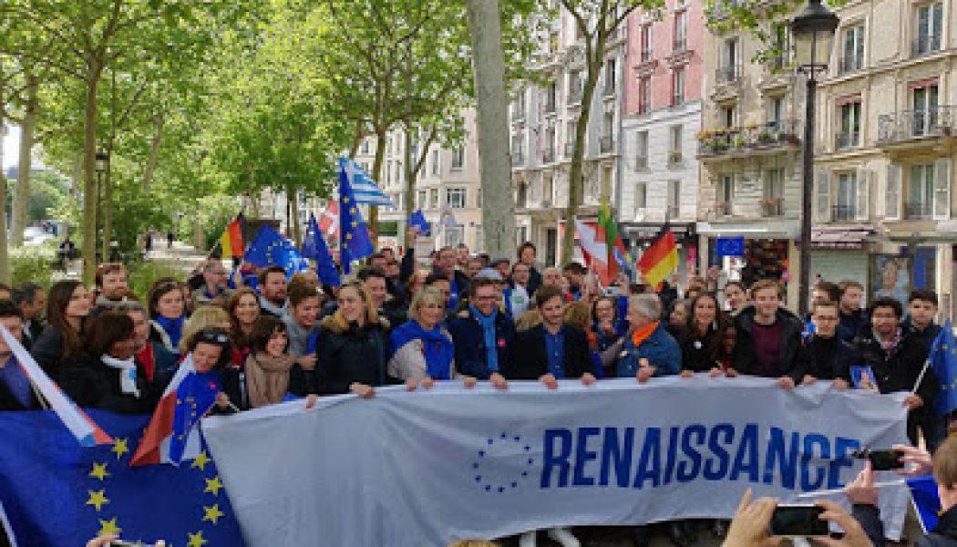 """La """"grande marche pour l'Europe"""" de LaREM rassemble moins de monde que le nombre de candidats de la liste"""