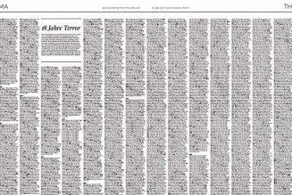 30 000 attentats commis par les islamistes dans le monde depuis le 11 septembre 2001. Bilan : 150 000 morts