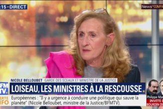 """Nicole Belloubet sur le réchauffement climatique : """"On ne l'arrêtera pas, c'est un phénomène mondial"""""""