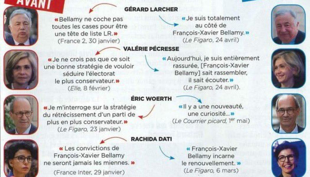 François-Xavier Bellamy et les opportunistes