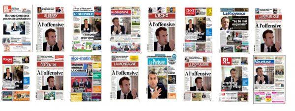 Le Télégramme et La Voix du Nord ont refusé de publier l'interview-propagande du président de...LREM