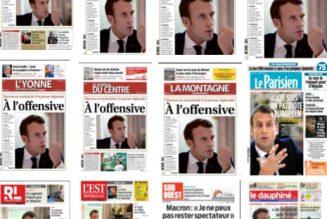 Et après on se plaint de la liberté de la presse en Russie…