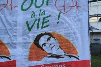 Poitiers se mobilise pour le transfert de Vincent Lambert dans une unité adaptée à son handicap