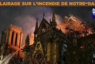 Guillaume de Thieulloy et Stéphanie Bignon évoquent l'incendie de Notre-Dame de Paris
