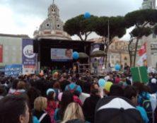 Marche pour la vie à Rome