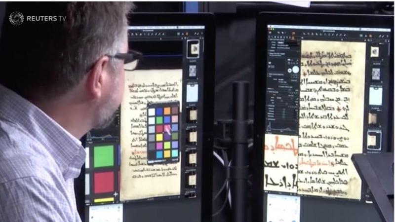 Le grand chantier de la numérisation des manuscrits du mont Sinaï