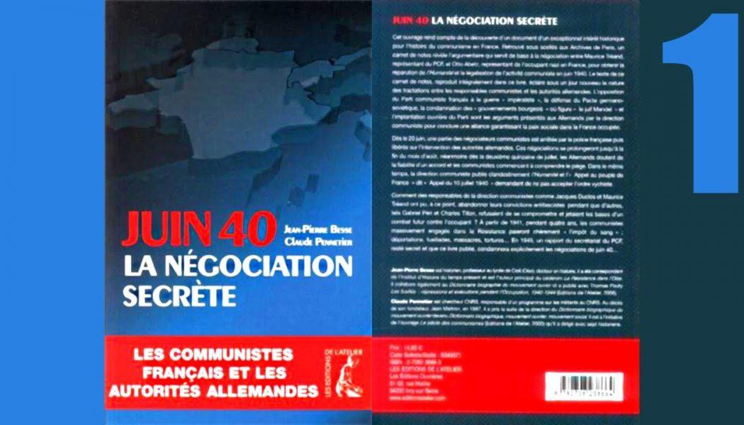 """Parti Communiste """"Français"""" : le mythe des 75 000 fusillés a la vie dure"""