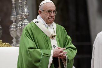 """Le pape François à propos de Vincent Lambert : """"Ne cédons pas à la culture du déchet"""""""