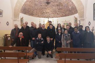 Pèlerinage organisé par la Cause de canonisation des 32 Bienheureuses martyres d'Orange
