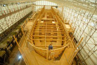 Refaire la charpente en bois de Notre-Dame : l'exemple de L'Hermione