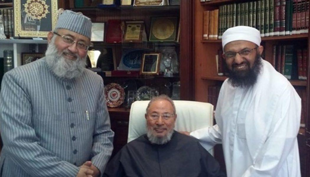 Al-Qaradawi, invité d'honneur de l'UOIF, avait reçu les islamo-terroristes du Sri Lanka