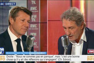 Christian Estrosi (LR) n'exclut pas une coalition entre LR et LaREM pour 2022