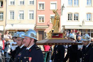 Prochaine procession dansante de saint Willibrord à Echternach (Luxembourg)