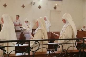 Les Petites Sœurs de Marie sont relevées de leurs vœux