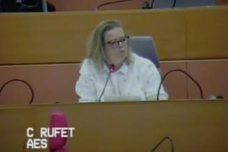 """Corinne Rufet : """"1000 églises dégradées, c'est rien !"""""""