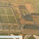 Exposition de neuf magnifiques peintures du 17e siècle des chartreuses vue du ciel