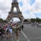 Arrivée du pèlerinage Chartres-Paris dans la capitale