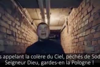 Du rap chrétien polonais contre l'homosexualisme et l'avortement censuré par Youtube