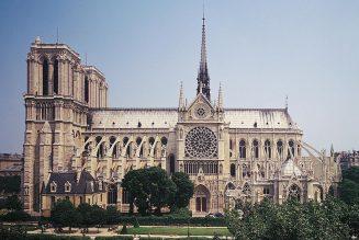 Notre-Dame et la flèche de Viollet-le-Duc