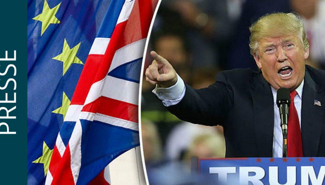Brexit : Donald Trump prêt à négocier avec le Royaume-Uni l'accord de libre-échange le plus rapide de l'Histoire