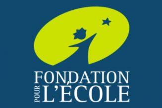 Retour aux fondamentaux pour la Fondation pour l'école