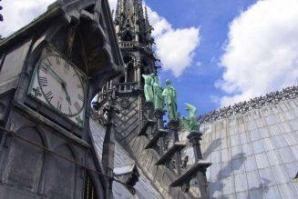 Une copie quasi-conforme de l'horloge de Notre-Dame