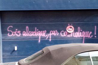 Course « Bouge pour ton père » dans les rues de Bordeaux : la haine LGBT dégouline des murs