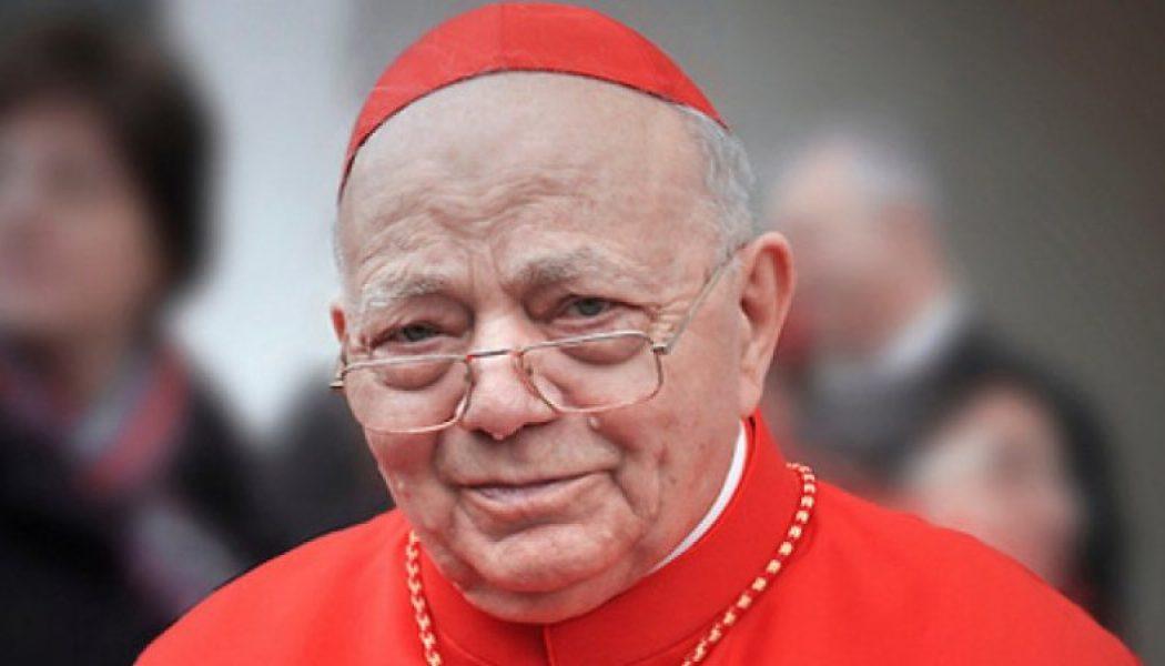 RIP, Cardinal Sgreccia