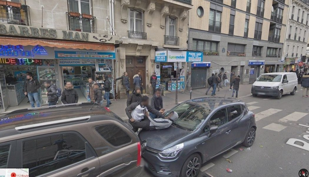 Google Street View montre Paris avec son grand remplacement, ses agressions, sa saleté