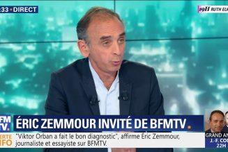 """Laurent Joffrin et Eric Zemmour d'accord sur les raisons du vote de la """"bourgeoisie catholique"""""""