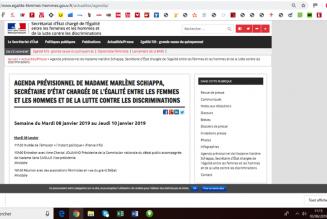 Marlène Schiappa ou l'agenda chargé d'un sous-ministre