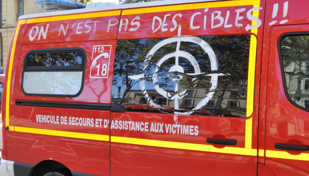 2813 agressions de sapeurs-pompiers en 2017 contre 899 en 2008