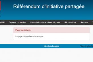 Référendum ADP : 480 300 soutiens au 1er juillet, soit 10% des signatures requises