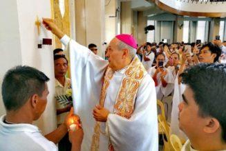 Réouverture de la cathédrale Notre-Dame du Mont-Carmel à Jolo, aux Philippines