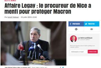 Le procureur a menti pour protéger Emmanuel Macron