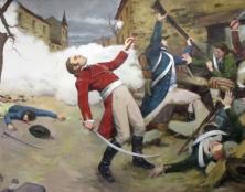La mort de Cathelineau – Grande peinture de 100m2 sur les guerres de Vendée