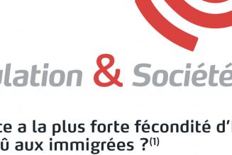 L'INED évoque le grand remplacement de population en France