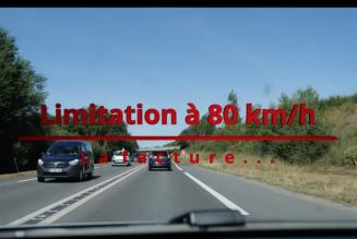 La facture salée des 80km/h