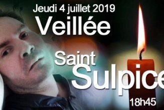 Veillée de prière pour Vincent Lambert à Saint-Sulpice