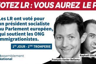 Les députés LR ont-ils voté pour un socialiste au parlement européen ?