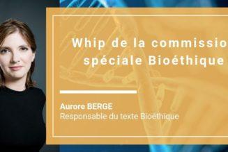 Commission spéciale chargée d'examiner le projet de loi relatif à la bioéthique